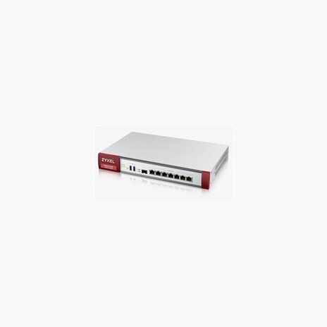 Zyxel USGFLEX500 firewall with 1-year UTM bundle, 7x gigabit WAN/LAN/DMZ, 1x SFP, 2x USB