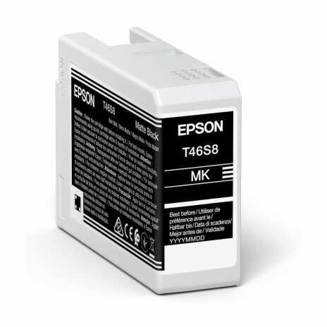 Epson Singlepack Matte Black T46S8 Ultrachrome