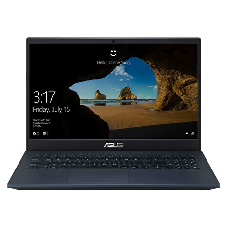 "ASUS Laptop X571GT - 15,6"" FHD/IPS/i7-9750H/16GB/512GB SSD/GTX 1650/W10 Home (Star Black/Plastic)"