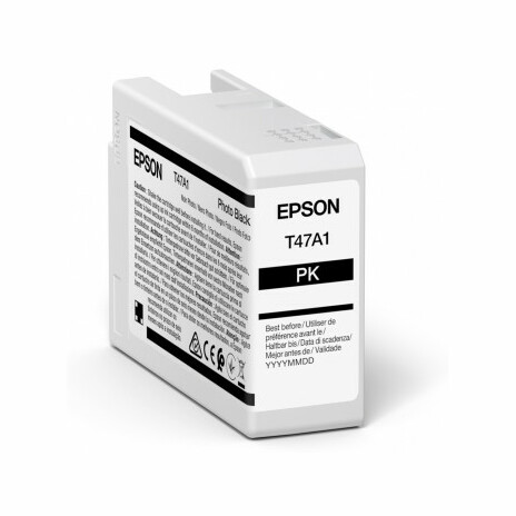 Epson Singlepack Photo Black T47A1 Ultrachrome