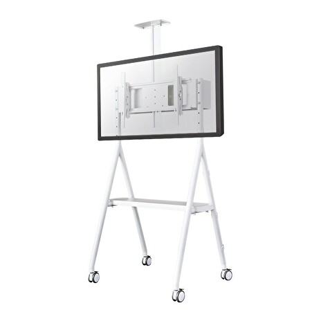 NS-M1500WHITE, NewStar Mobile Flat Screen Floor Stand