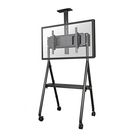 NS-M1500BLACK, NewStar Mobile Flat Screen Floor Stand