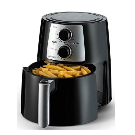 Fritéza DELIMANO AIR FRYER PRO BLACK