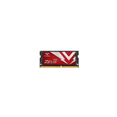 SODIMM DDR4 16GB 3200MHz, CL16, (KIT 1x16GB), T-FORCE ZEUS, Red